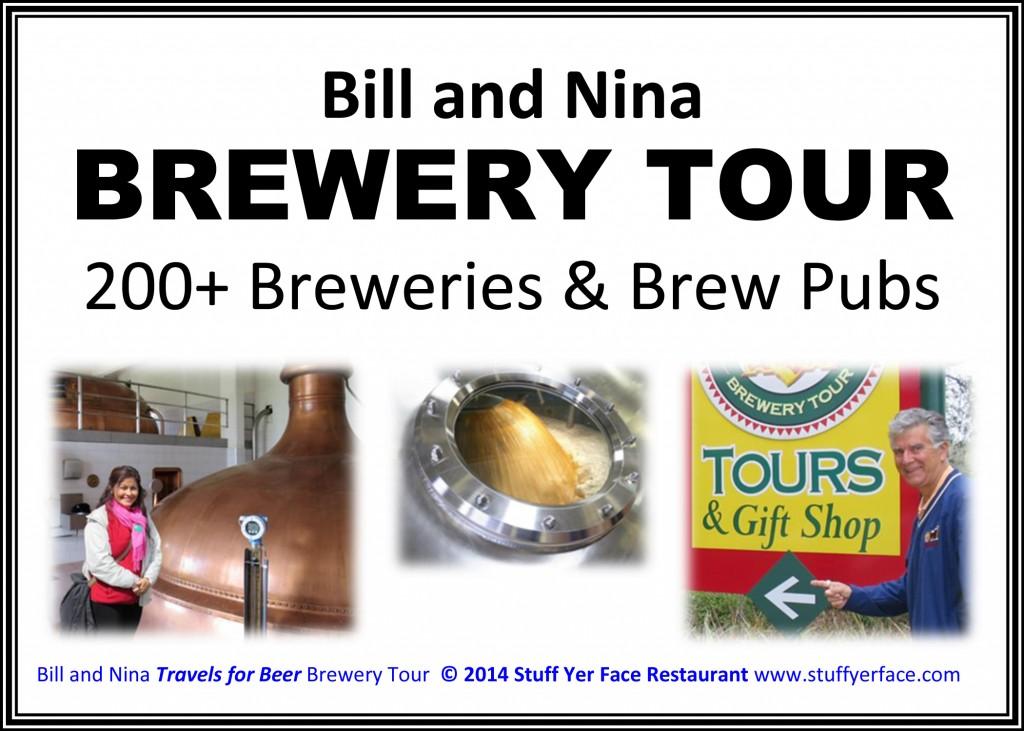 Bill & Nina Brew Tour COVER