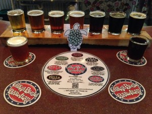 oskar blues tasters